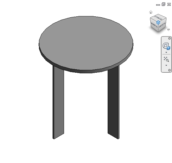 Revit Families Round Table Rfa 56 Several 714 Architecture