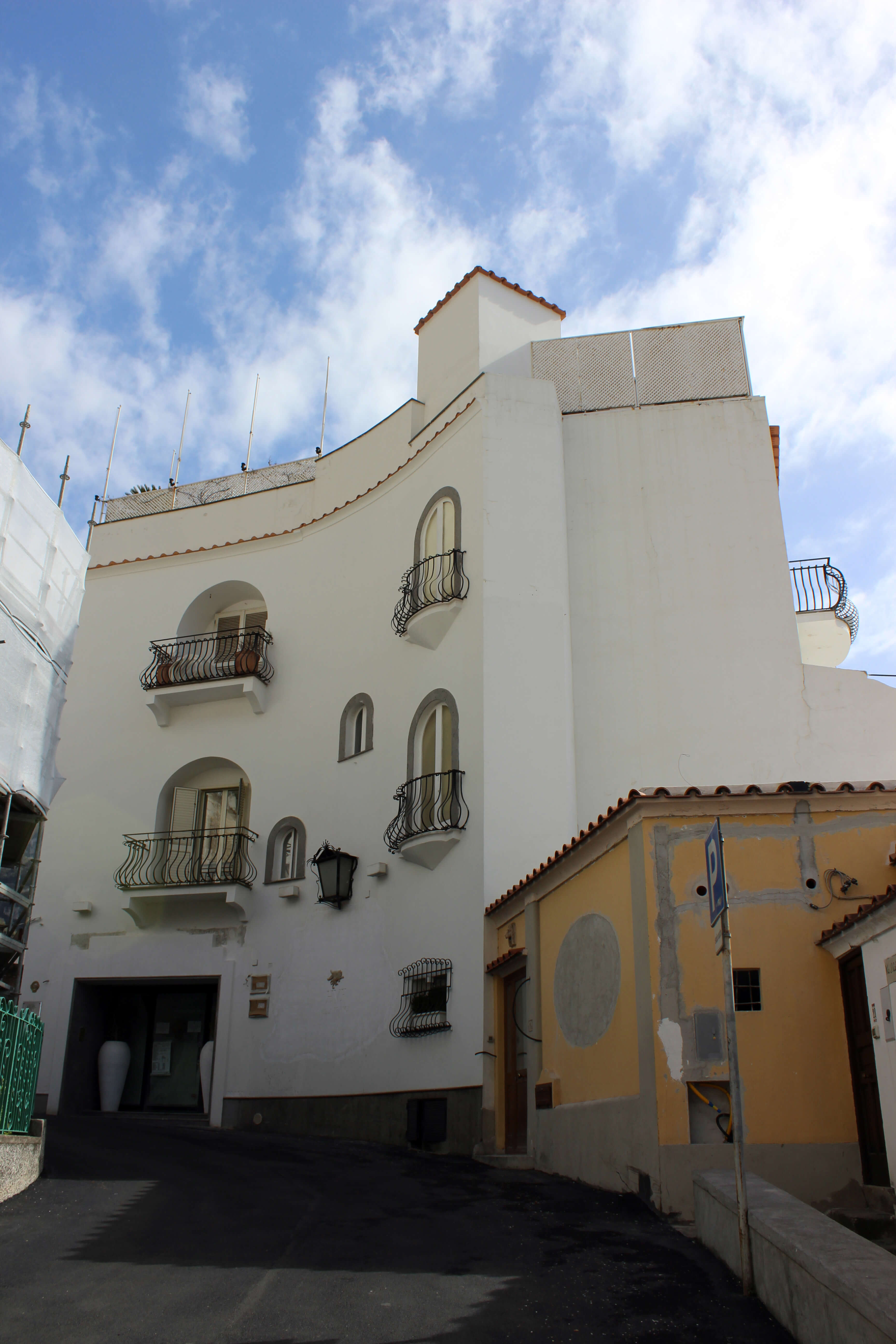 Love Affair with Positano - Greek Inspired Architecture
