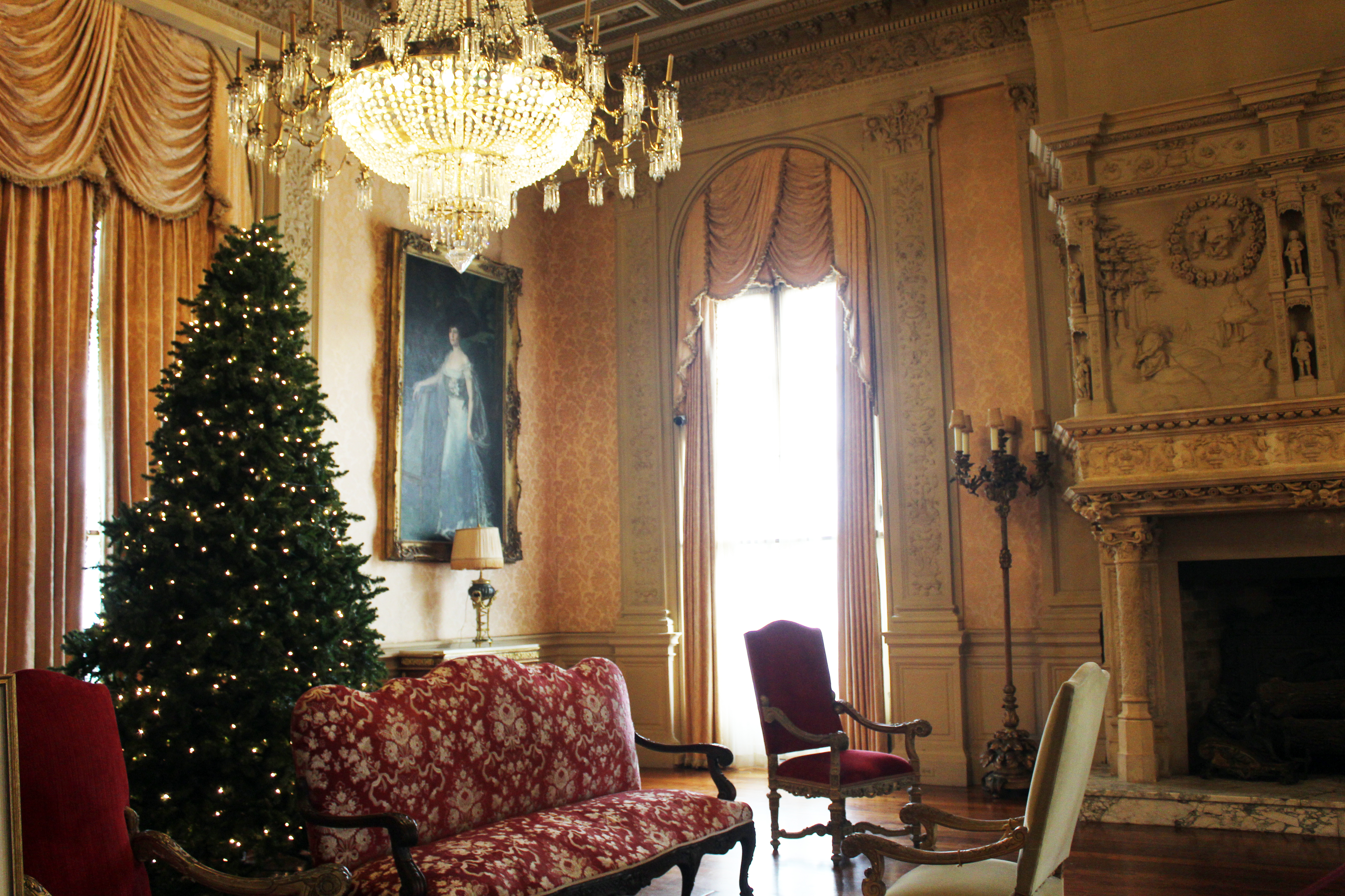 """Rosecliff Mansion - Newport RI 