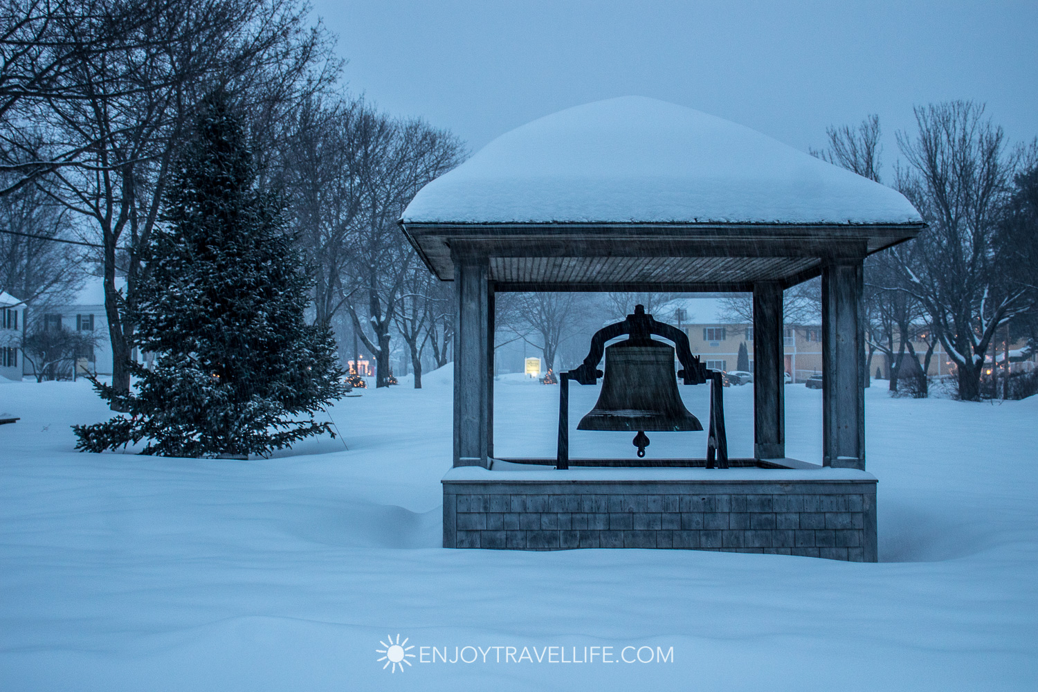 Winter in Bethel Maine | Town Bell