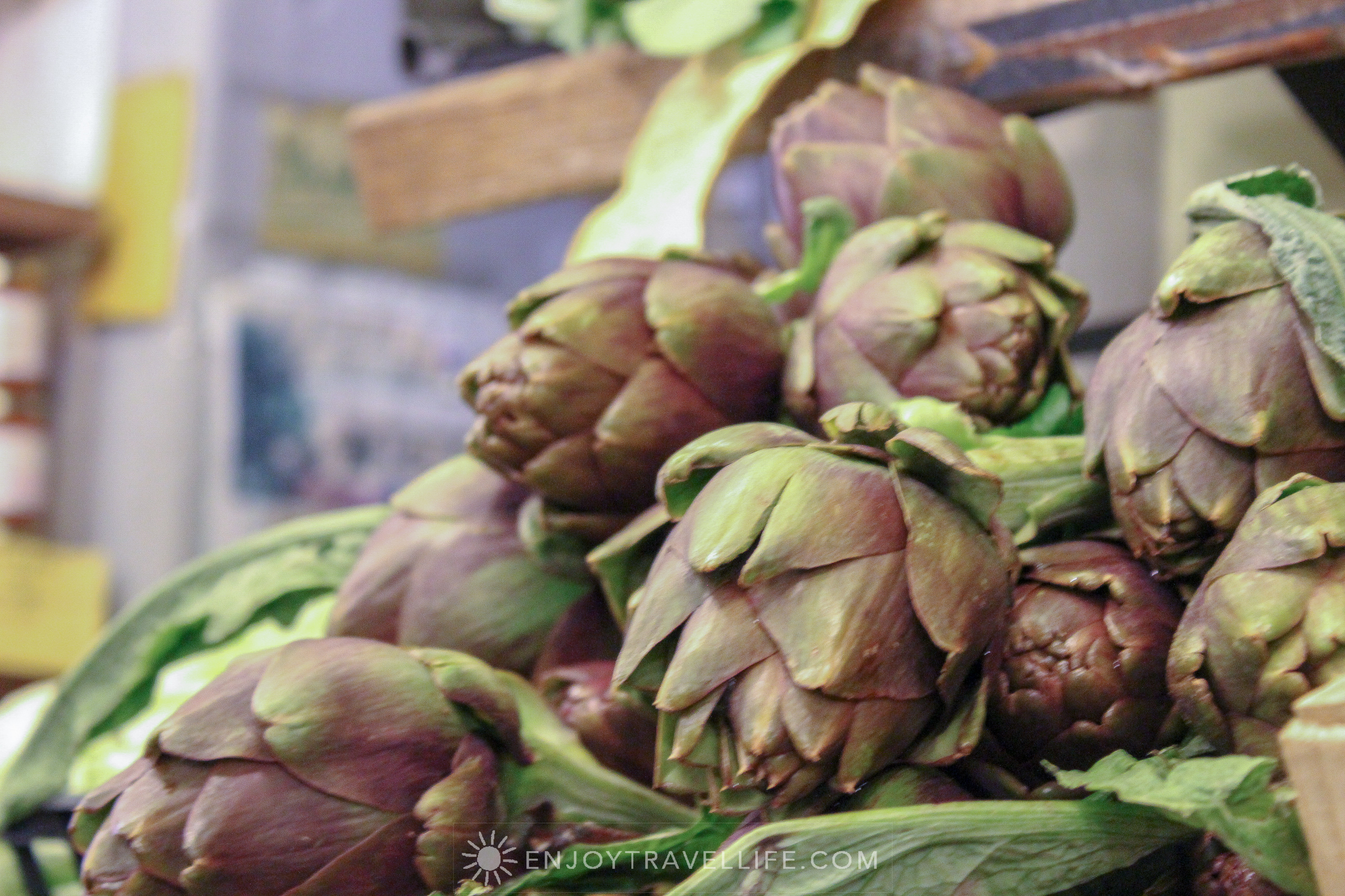 Sunset over Florence Italy - Fiesole artichokes