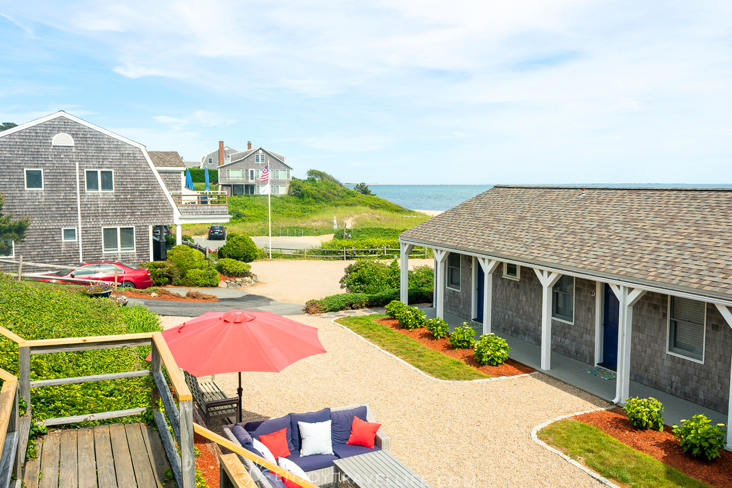 Waterfront Weekend in Chatham - Chatham Tides Inn Reception