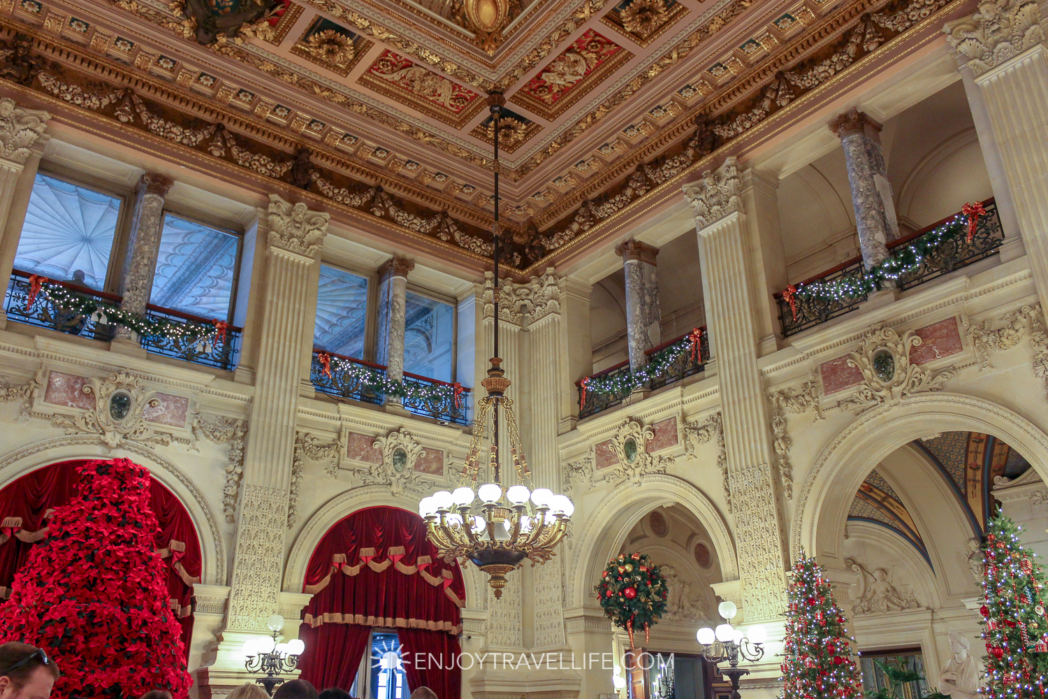 The Great Hall at The Breakers Mansion - Newport Rhode Island