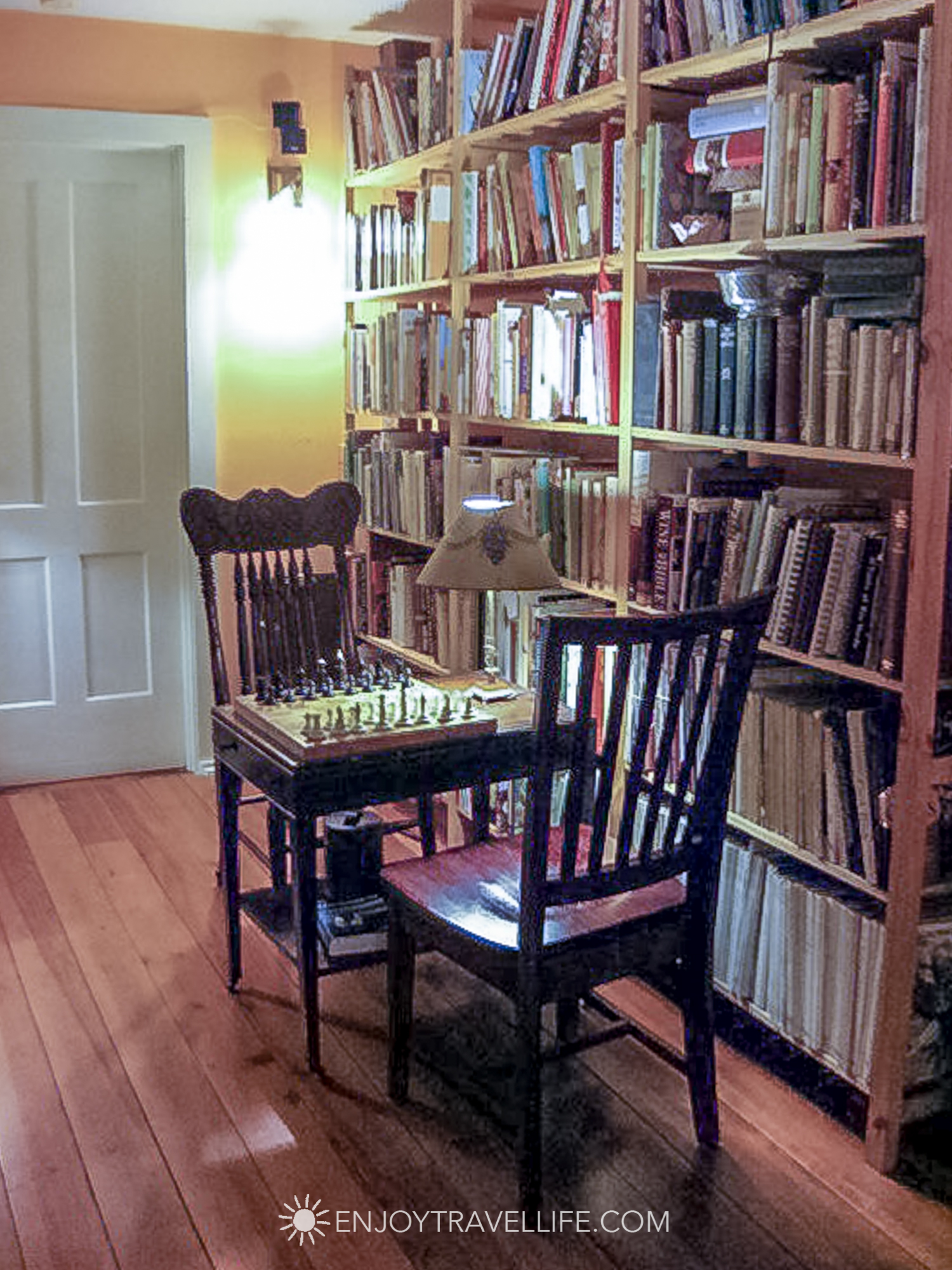 Comfort and Foodie Heaven at The Inn at Sweet Water Farm - Library