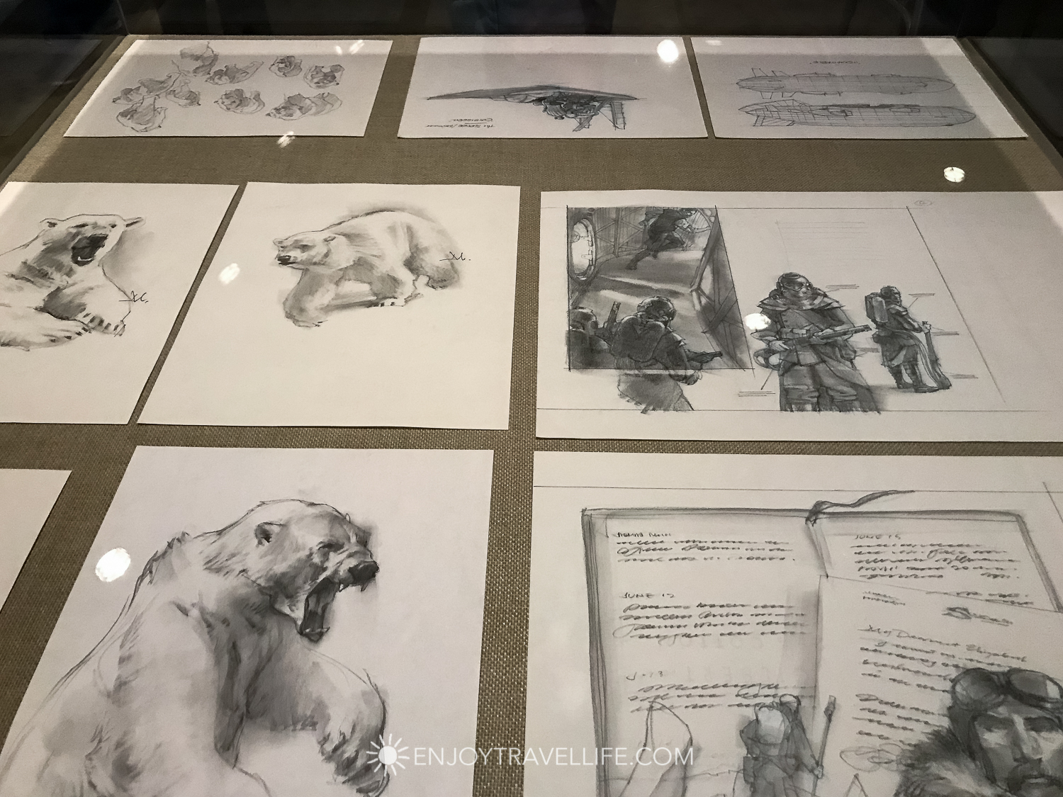 Artist Gregory Manchess Sketches at Norman Rockwell Museum