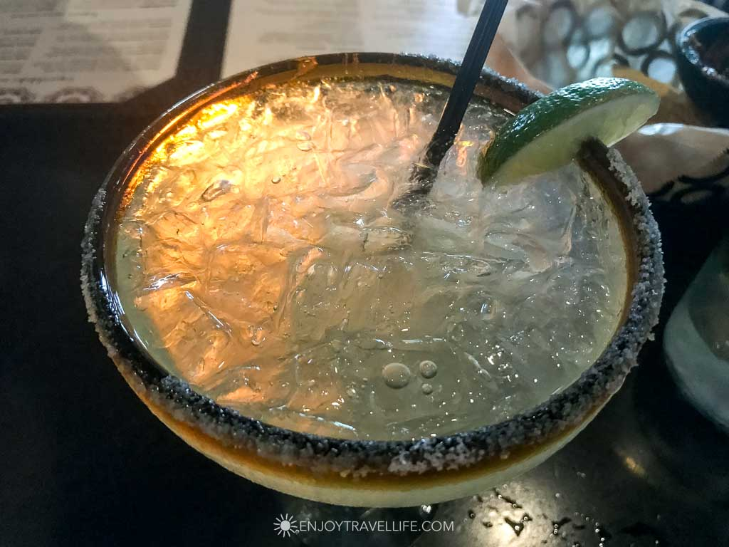 Cadillac Margarita at Anejo in Falmouth Mass (Cape Cod)