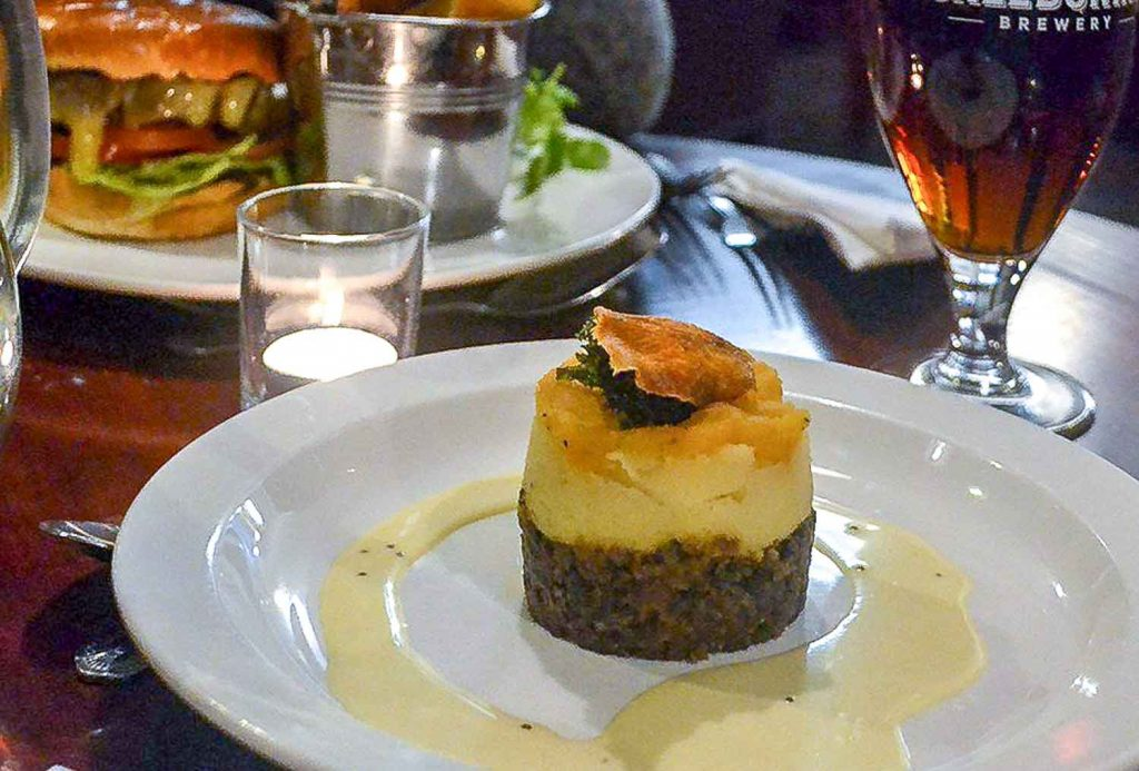 Haggies from Scotland served in fine dining | Food Tourism