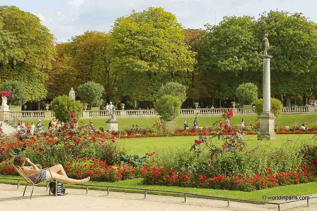The Luxembourg Gardens (Paris, France)