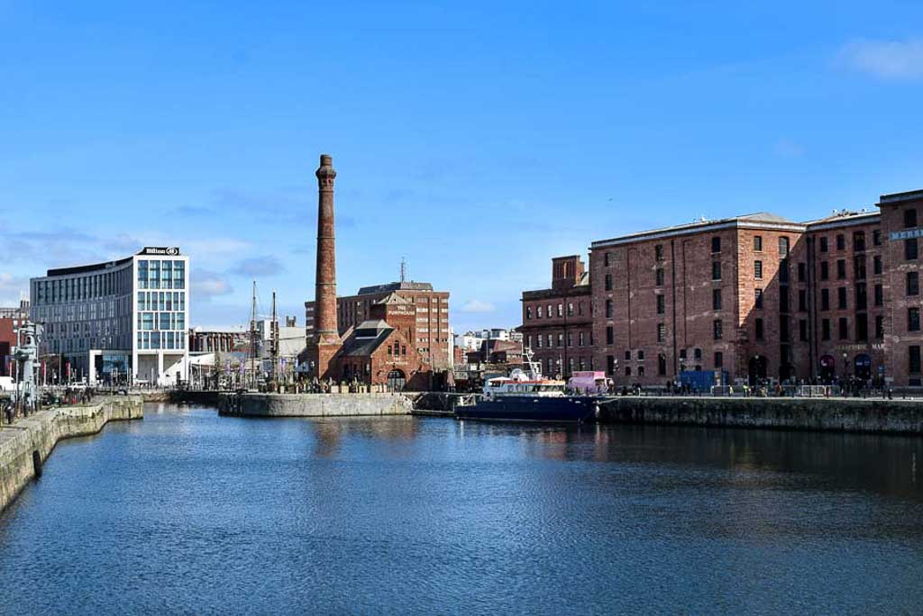 Liverpool Docks on a Self-Guided Walking Tours in the UK