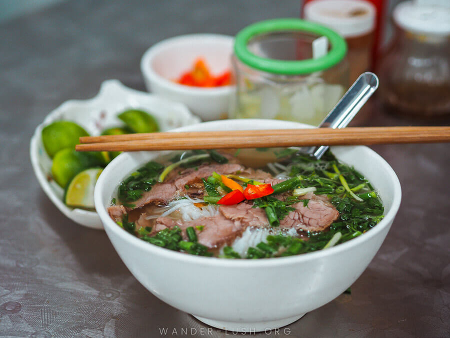 One of the most loved soups in the world: Vietnamese phở