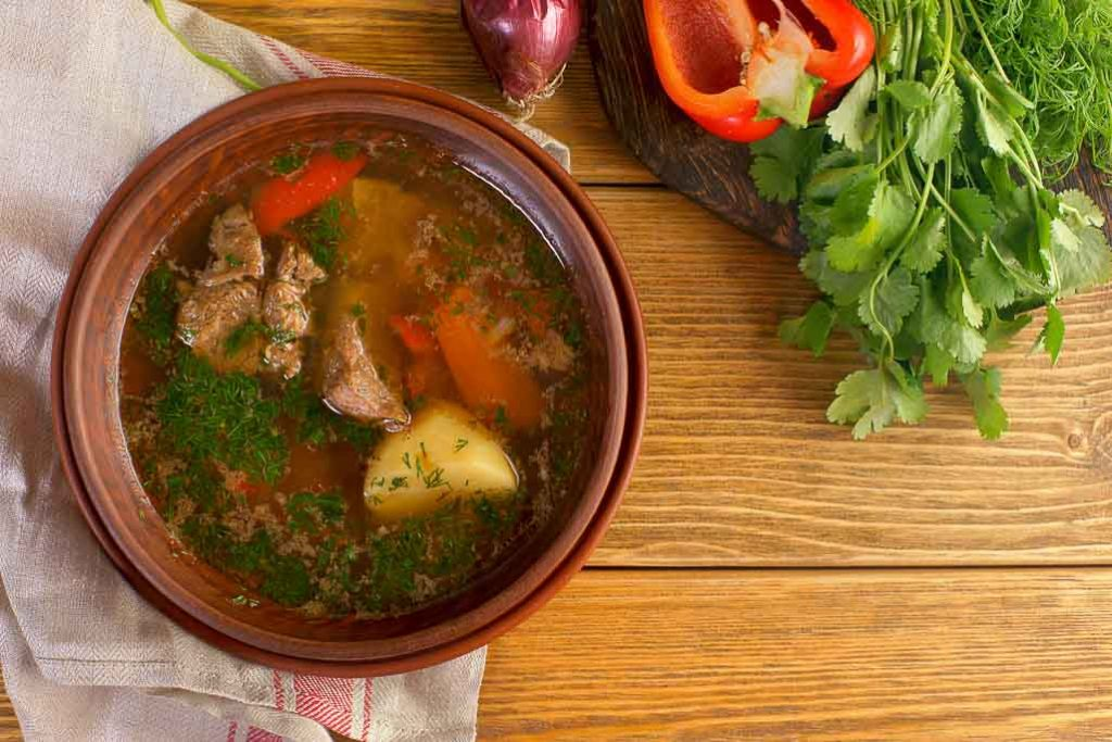 Asian Soups: Shurpa [Central Asia]