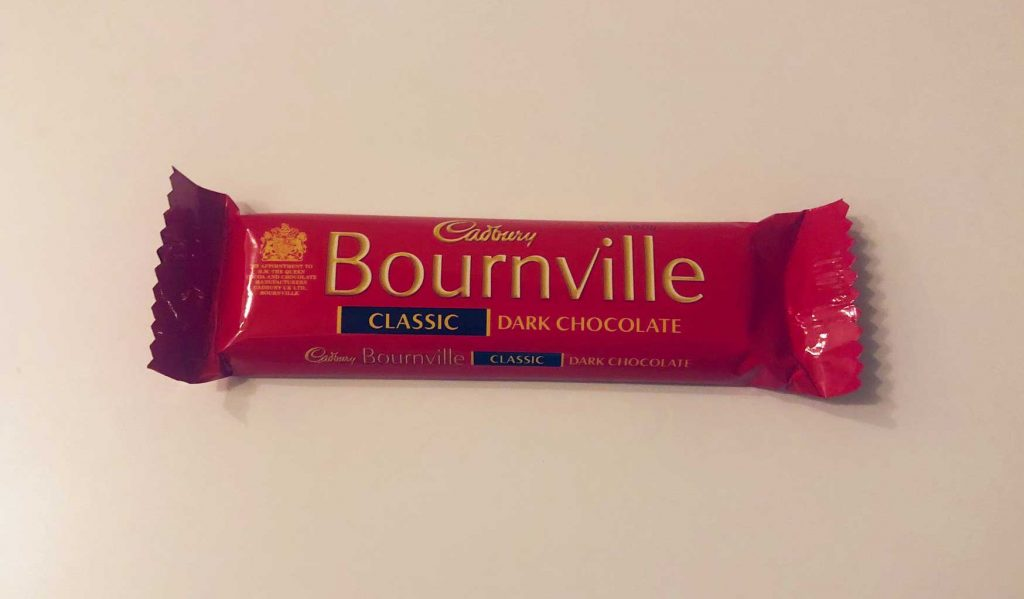 Cadbury Bournville Classic Dark Chocolate Bar - Candy of the World (UK)