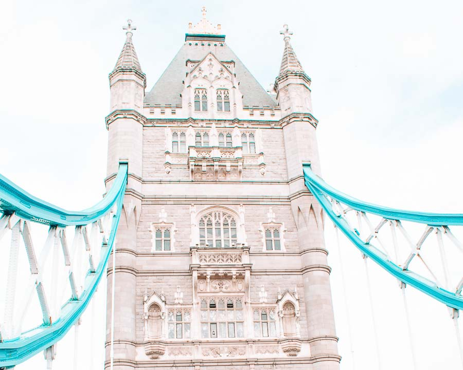 London Bridge, London UK / one of the best places for Americans living abroad
