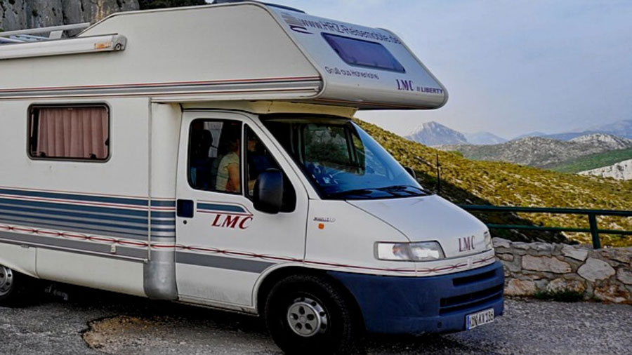 Best Gifts for RVers - motorhome in the mountains