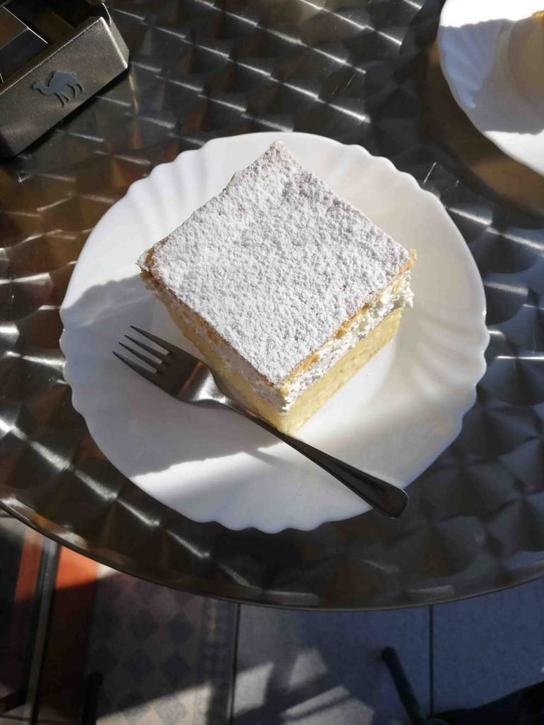 Kremšnita, best desserts in the world (Slovenia)