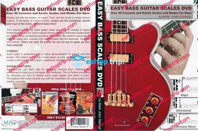 Easy Bass Guitar Scales