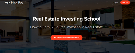 Nick Foy Real Estate Investing School
