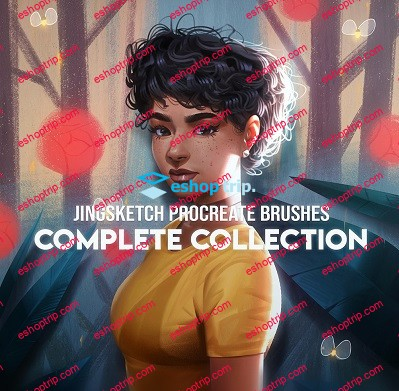 JingSketch ProCreate Brushes Complete Collection All Access Package