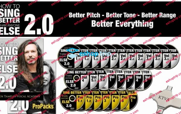 Ken Tamplin – Vocal Academy – How To Sing Better Than Anyone Else 2.0 Pro Bundle