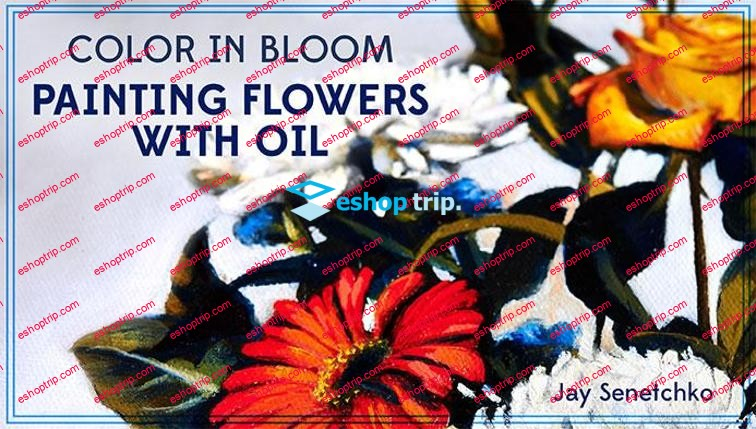 Mybluprint Color in Bloom Painting Flowers With Oil