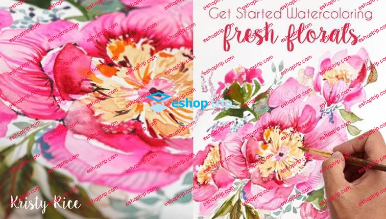 Mybluprint Get Started Watercoloring Fresh Florals