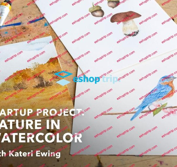 Mybluprint Startup Project Nature in Watercolor