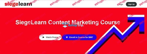 SiegeLearn Content Marketing Course 1