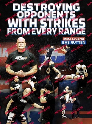 Bas Rutten Destroying Opponents With Strikes From Every Range
