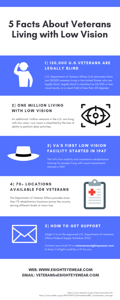 5 Facts About Veterans Living with Low Vision
