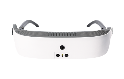 eSight 3, glasses for the visually impaired in the colour white. Technical Specifications