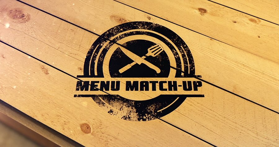 Menu Match-up logo.