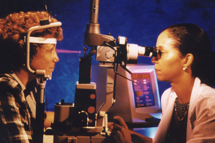 laser surgery as a treatment for diabetic retinopathy