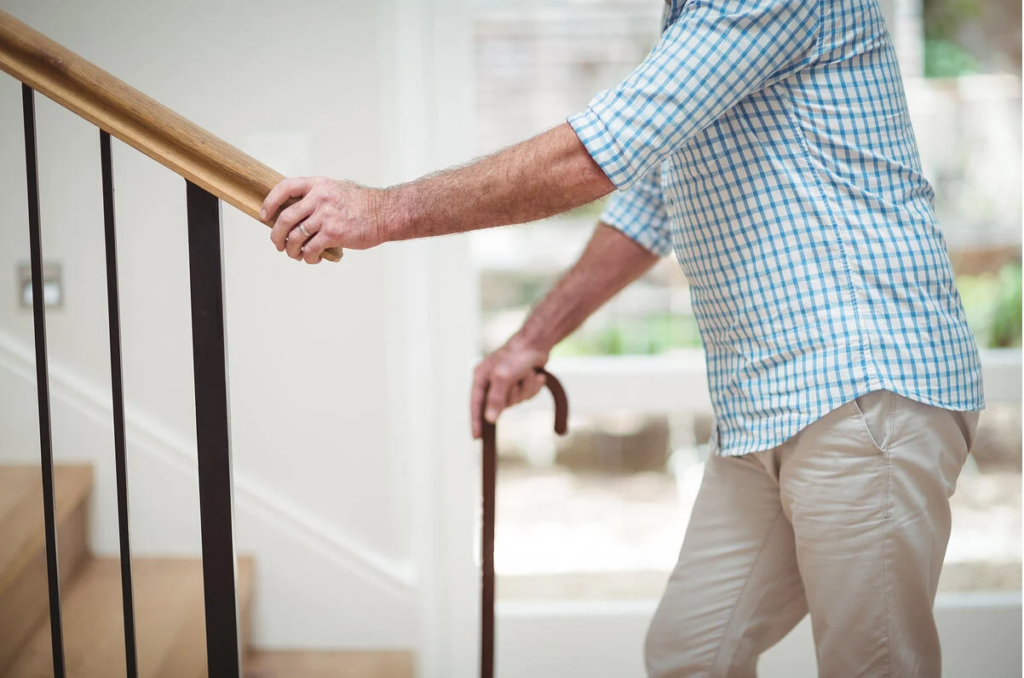 How railings can prevent a fall