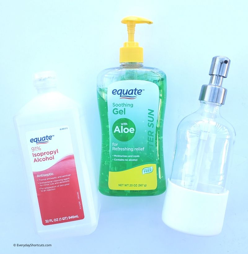 Ingredients To Make Diy Hand Sanitizer Everyday Shortcuts