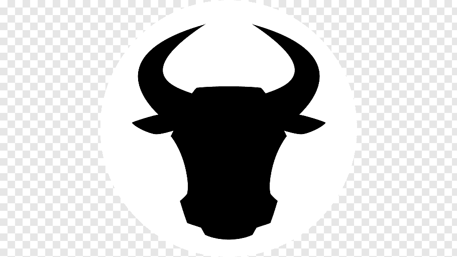 Drawing Of Family Spanish Fighting Bull Cattle Horn Head