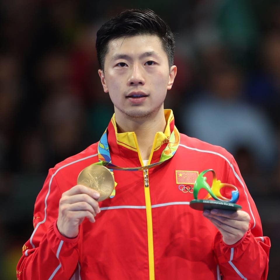 Famous Table tennis Player Ma Long