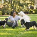 Oprah with pets