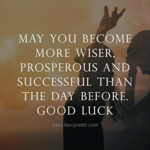 Good Luck Wishes for Team