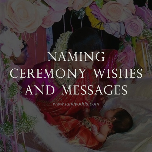 Naming Ceremony Wishes | Messages