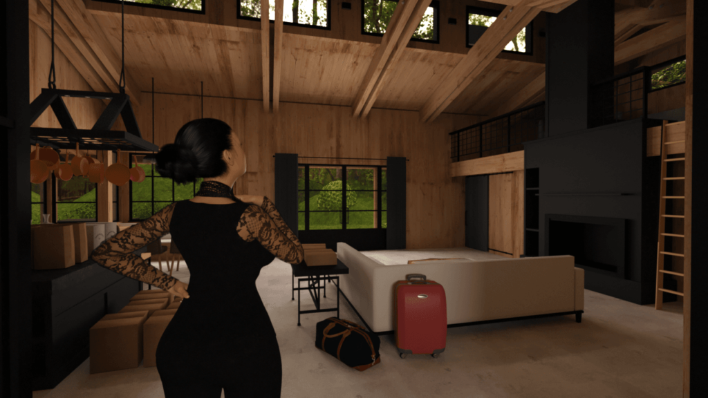 Back To The Cabin Porn Game 2