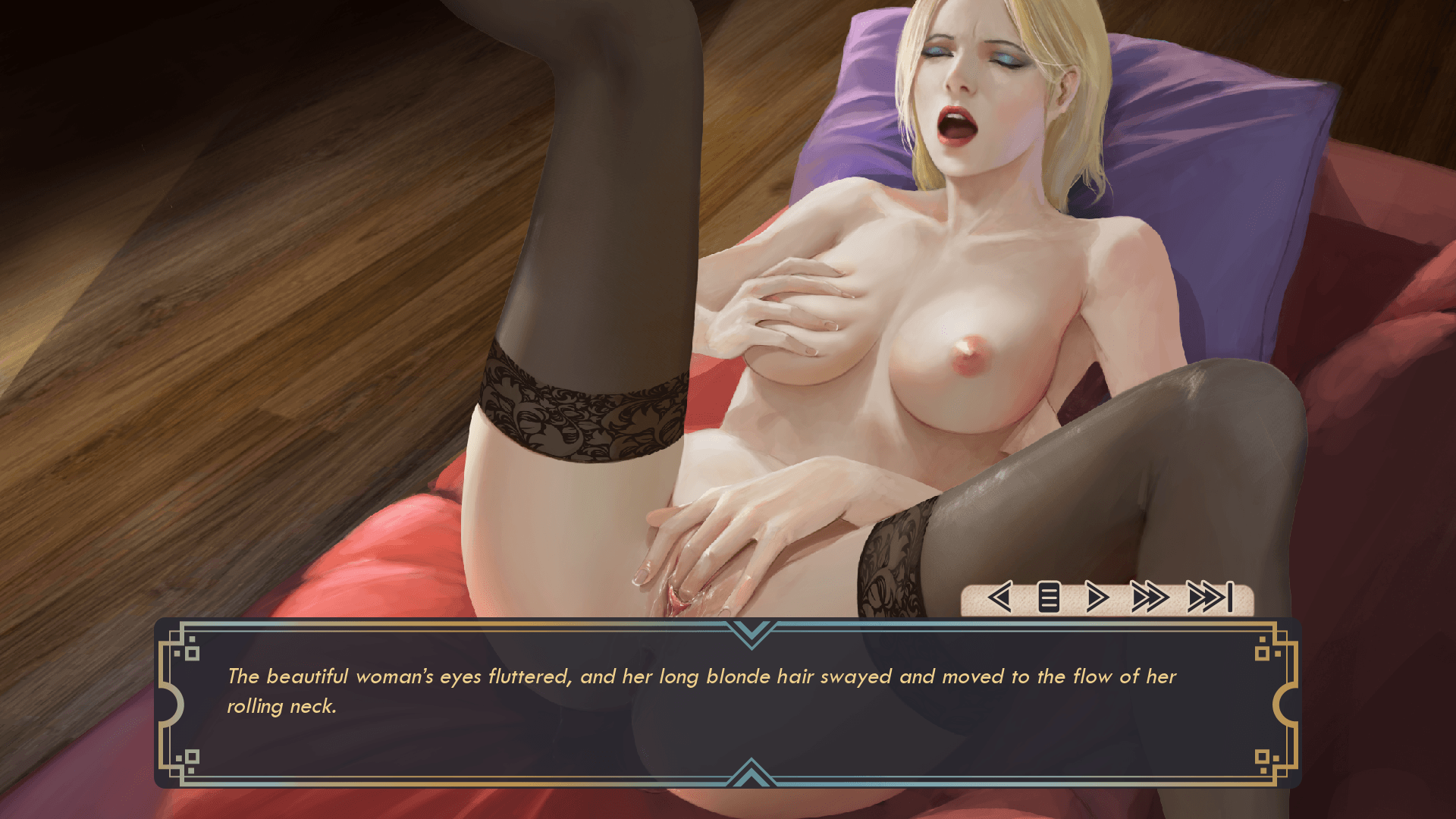 Milky Touch Porn Game 5