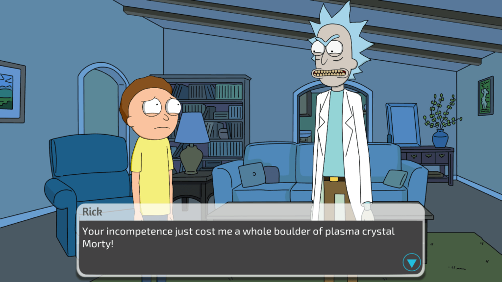Rick And Morty A Way Back Home Porn Game 3