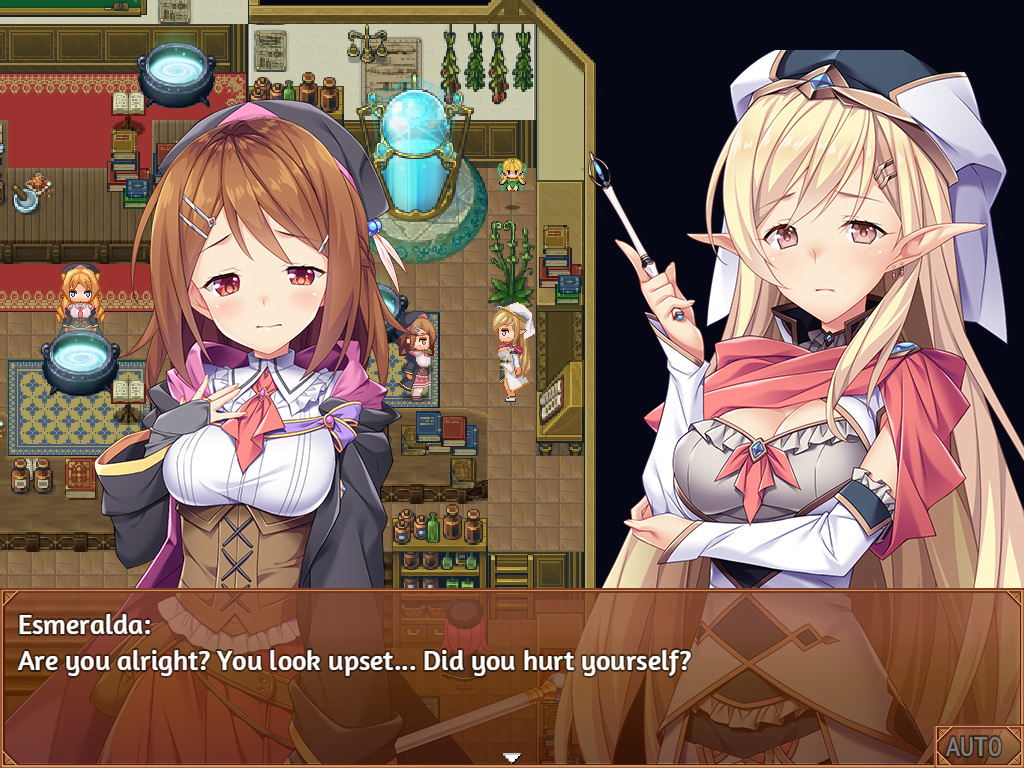MIRA AND THE MYSTERIES OF ALCHEMY HENTAI JAPANESE UNCENSORED GAME
