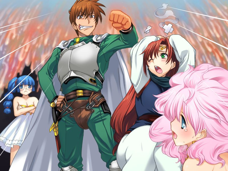 RANCE 02 THE REBELLIOUS MAIDENS PLAY ADULT SEX GAMES