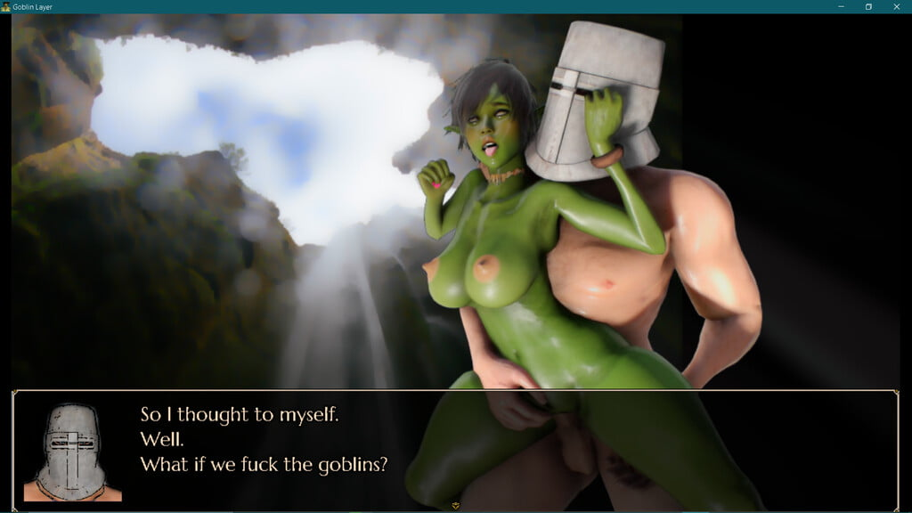 goblin layer animated monster porn game free