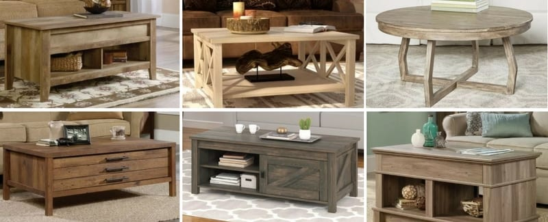 100 Best Farmhouse Coffee Tables Rustic Coffee Tables For 2020