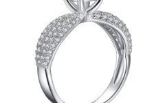 Silver Engagement Rings for Women
