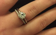 Solitaire Rings with Wedding Band