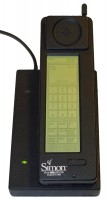 First phones with a game: IBM Simon image credit