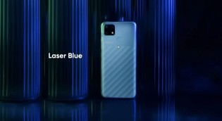 The Narzo 30A will be available in Laser Blue and Laser Black